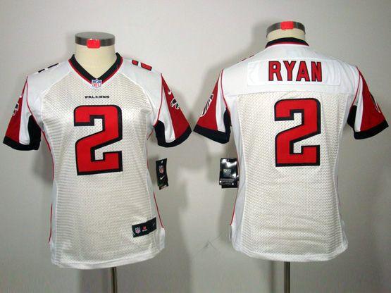 Women  Nfl Atlanta Falcons #2 Ryan White Limited Jersey