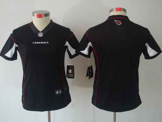 Women  Nfl Arizona Cardinals (blank) Black Limited Jersey