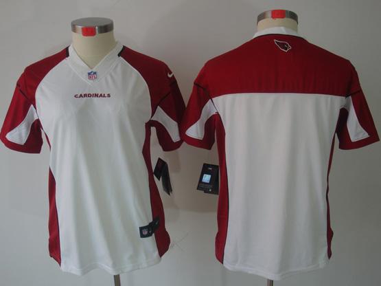 Women  Nfl Arizona Cardinals (blank) White Limited Jersey