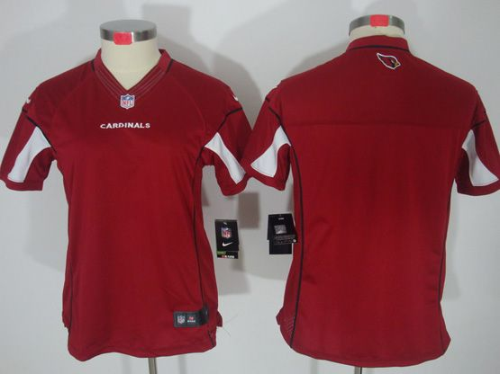 Women  Nfl Arizona Cardinals (blank) Red Limited Jersey