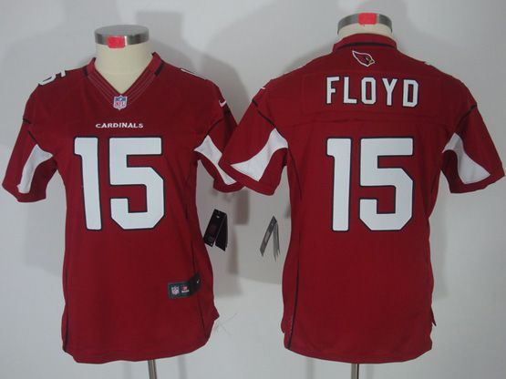 Women  Nfl Arizona Cardinals #15 Michael Floyd Red Limited Jersey