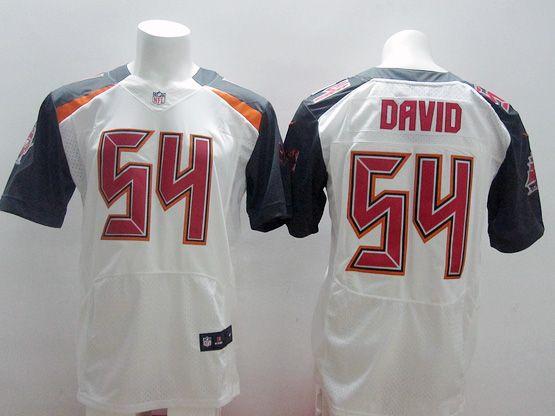 Mens Nfl Tampa Bay Buccaneers #54 David White (2014 New) Elite Jersey