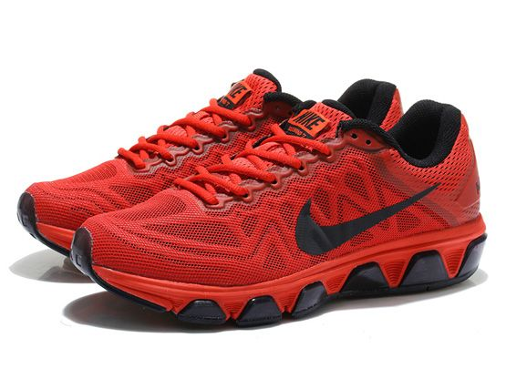 Women Air Max 2015 7.0 Running Shoes Color Red&black