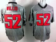 Mens Nfl San Francisco 49ers #52 Willis Gray Shadow Elite Jersey