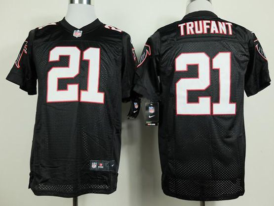 Mens Nfl Atlanta Falcons #21 Trufant Black Elite Jersey Sp