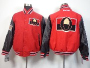 Mens Nhl Ottawa Senators Men Embroidered Cotton Button Red Jacket
