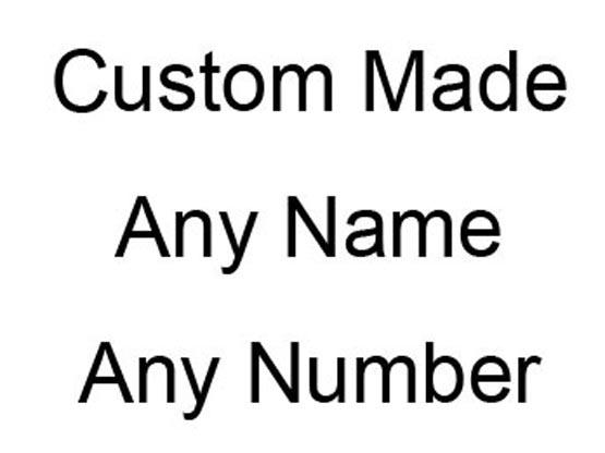 Mens Ncaa Nfl Any Team (custom Made) Any Color Jersey