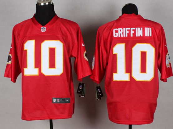 Mens Nfl Washington Redskins #10 Griffin Iii 2014 Qb Red Jersey