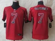 youth nfl San Francisco 49ers #7 Colin Kaepernick red 2014 new drift fashion elite jersey