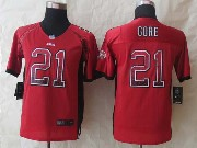 Youth Nfl San Francisco 49ers #21 Gore Red 2014 New Drift Fashion Elite Jersey