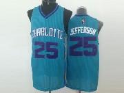 Mens Nba Charlotte Hornets #25 Jefferson Light Blue Jersey (m)