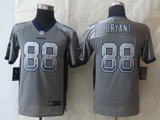 Youth Nfl Dallas Cowboys #88 Bryant Gray 2014 New Drift Fashion Elite Jersey