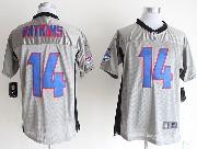 Mens Nfl Buffalo Bills #14 Sammy Watkins Gray Shadow Elite Jersey