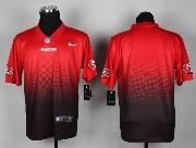 Mens Nfl San Francisco 49ers (blank) Red&black Drift Fashion Ii Elite Jersey