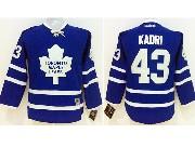 youth reebok nhl toronto maple leafs #43 kadri blue Jersey