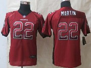 Youth Nfl Tampa Bay Buccaneers #22 Martin Red 2014 Drift Fashion Elite