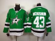 Mens reebok nhl dallas stars #43 nichushkin green Jersey