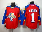 Mens reebok nhl florida panthers #1 luongo red Jersey