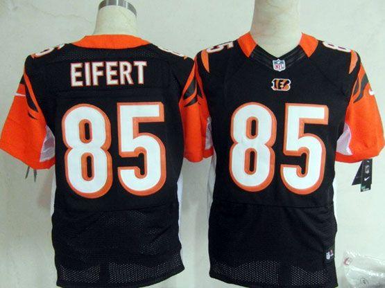 Mens Nfl Cincinnati Bengals #85 Eifert Black Elite Jersey