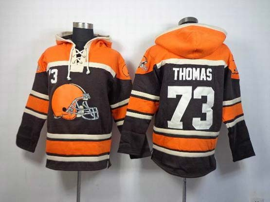 Mens Nfl Cleveland Browns #73 Thomas Black (team Hoodie) Jersey
