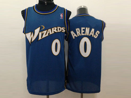 Mens Nba Washington Wizards #0 Arenas Dark Blue Jersey (m)