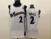 Mens Nba Washington Wizards #2 John Wall White Jersey (m)