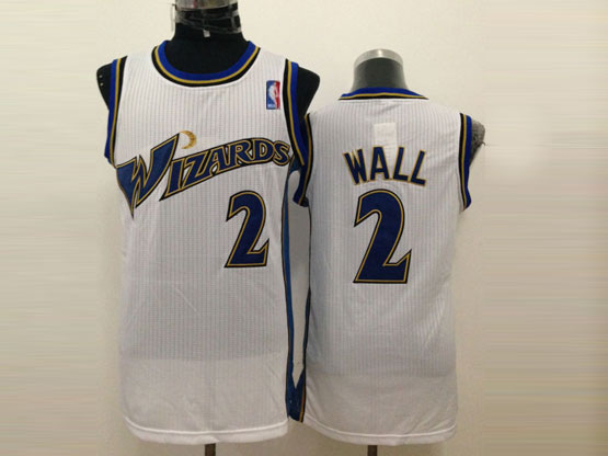 Mens Nba Washington Wizards #2 Wall White Jersey (m)