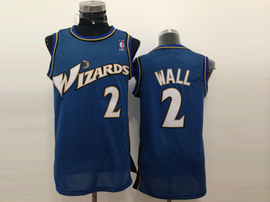 Mens Nba Washington Wizards #2 Wall Dark Blue Jersey (m)