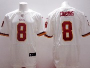 Mens Nfl Washington Redskins #8 Cousins White (2013 New) Elite Jersey