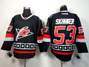 Mens reebok nhl carolina hurricanes #53 skinner black Jersey