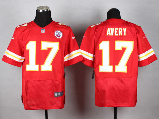 Mens Nfl Kansas City Chiefs #17 Avery Red Elite Jersey