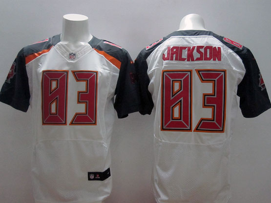 Mens Nfl Tampa Bay Buccaneers #83 Jackson White (2014 New) Elite Jersey