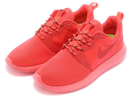 Women    2014 Roshe Run Hyperfuse Shoes Color Pink