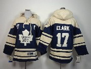 youth nhl toronto maple leafs #17 clark blue hoodie Jersey
