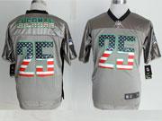 Mens Nfl New Seattle Seahawks #25 Sherman 2014 Usa Flag Fashion Gray Shadow Elite Jerseys