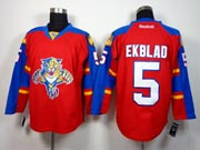Mens reebok nhl florida panthers #5 ekblad red Jersey