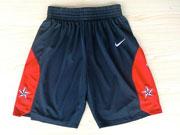 Nba Usa 10 2012 Blue Short (new Mesh Style)