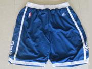 Nba Oklahoma City Thunder Blue&white Shorts