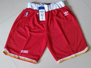 Nba Houston Rockets Red Throwbacks Short Sp