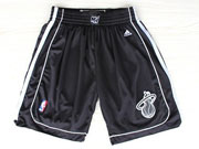 Nba Miami Heat Full Black Shorts Sp