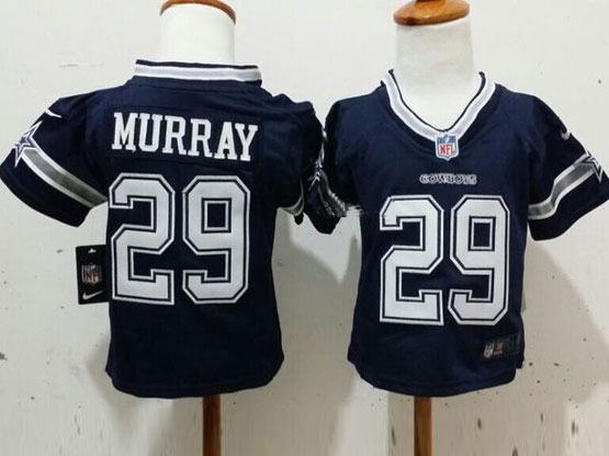 Kids Nfl Dallas Cowboys #29 Murray Blue Game Jersey