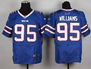 Mens Nfl Buffalo Bills #95 Kyle Williams Light Blue (2013 New) Elite Jersey