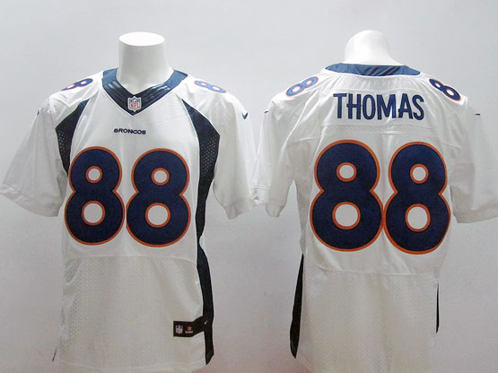 Mens Nfl Denver Broncos #88 Thomas White (2013 New) Elite Jersey