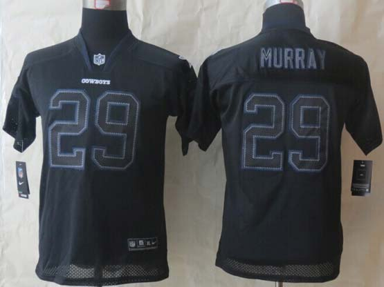Youth Nfl Dallas Cowboys #29 Murray Black 2014 Lights Out Black Elite Jersey