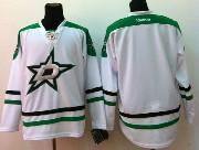 Mens reebok nhl dallas stars (blank) white Jersey