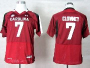 Youth Ncaa Nfl South Carolina Gamecock #7 Clowney Red Jersey