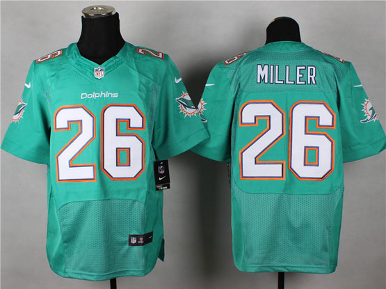 Mens Nfl Miami Dolphins #26 Miller Green (2013 New) Elite Jersey
