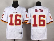 Mens Nfl Washington Redskins #16 Mccoy White (2013 New) Elite Jersey