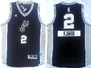 Mens Nba San Antonio Spurs #2 Kawhi (2014 New Christmas) Black Jersey