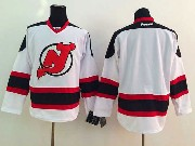 Mens reebok nhl new jersey devils (blank) white Jersey